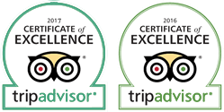 TripAdvisor Certificate of Excellence 2017 & 2016 / Phuket Boat Charters