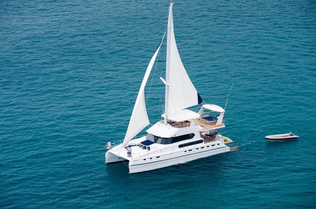 Phuket Yacht Charter: 70 ft Catamaran » Coral Seekers