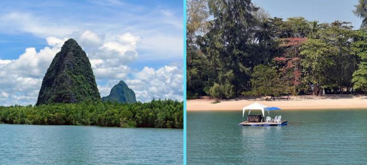 Phuket speedboat charter to Phang Nga Bay and Secret Beach